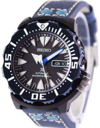 Seiko Prospex Air Diver 200M Ratio Blue Leather SRP581K1-LS5 Mens Watch