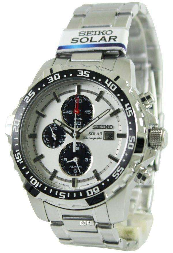 seiko solar alarm chronograph ssc297p1 ssc297p ssc297 mens. Black Bedroom Furniture Sets. Home Design Ideas