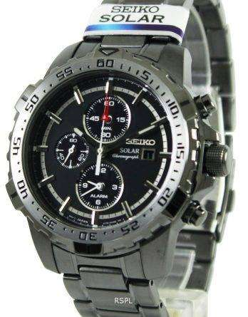 Seiko Solar Chronograph SSC301P1 SSC301P SSC301 Mens Watch