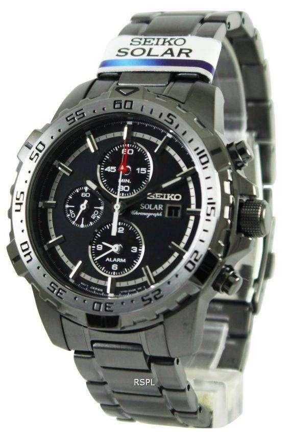 Seiko Solar Chronograph SSC301P1 SSC301P SSC301 Mens Watch 1