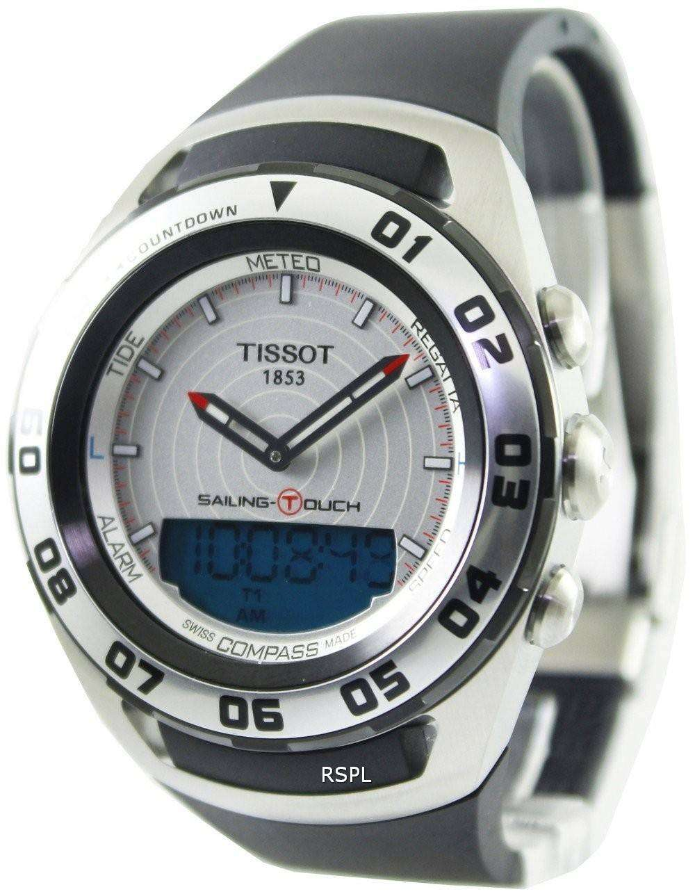 Bit no boaty - Tissot sailing touch watch? - YBW