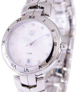 Tag Heuer Link Bracelet Diamond Dial WAT1311.BA0956 Womens Watch