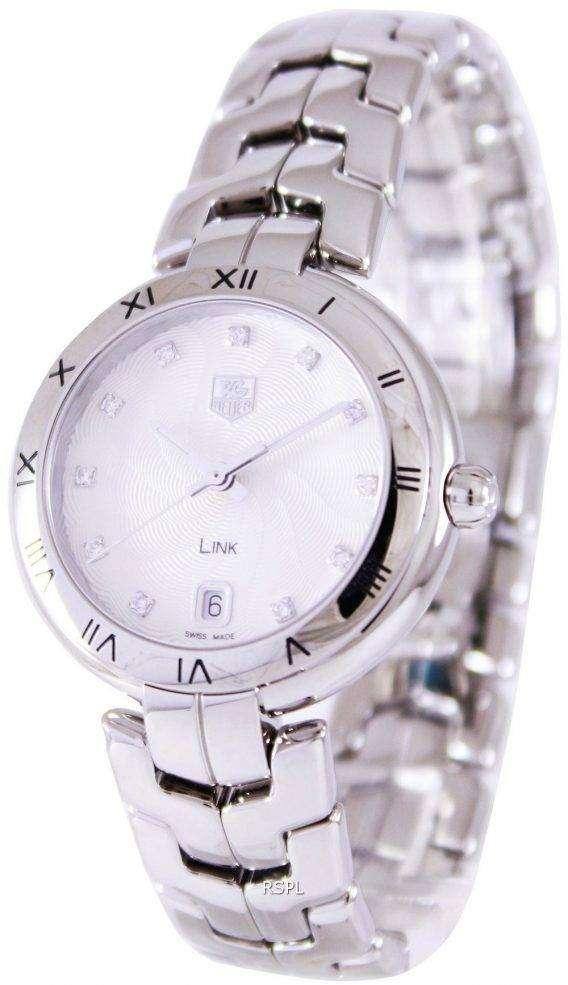 Tag Heuer Link Bracelet Diamond Dial WAT1311