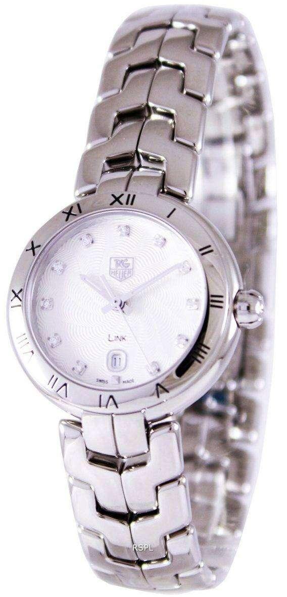 Tag Heuer Link Bracelet Diamond Dial WAT1411