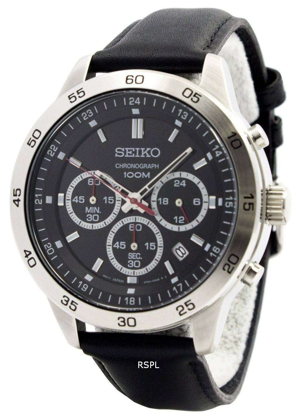 seiko neo sports chronograph sks519p2 mens watch. Black Bedroom Furniture Sets. Home Design Ideas