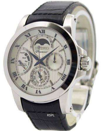Seiko Premier Kinetic Direct Drive Moon Phase SRX011P2 Men's Watch