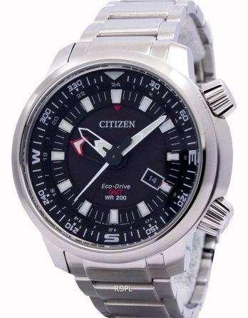 Citizen Eco-Drive Promaster GMT 200M BJ7081-51E Mens Watch