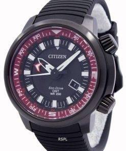 Citizen Eco-Drive Promaster GMT 200M BJ7086-06E Mens Watch
