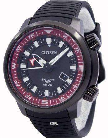 Citizen Eco-Drive Promaster GMT 200M BJ7086-06E Mens Watch