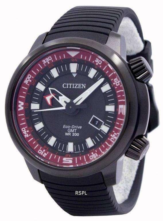 Citizen Eco-Drive Promaster GMT 200M BJ7086-06E Mens Watch 1