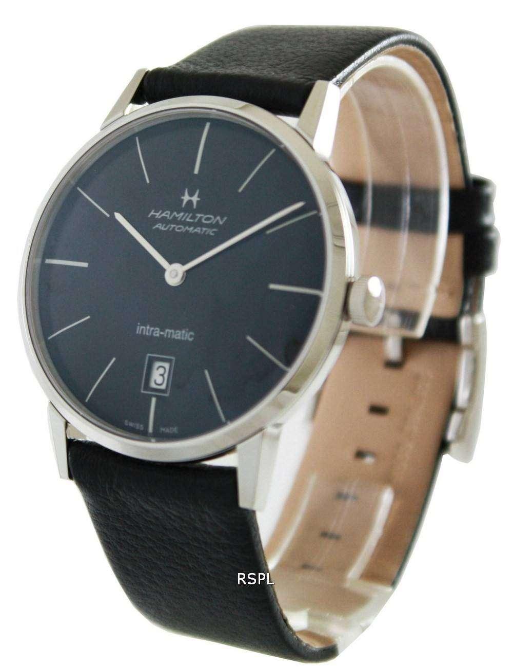 Hamilton American Classic Intra-Matic H38455731 Mens Watch
