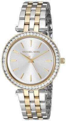 Michael Kors Mini Darci Two Tone Crystals MK3405 Women's Watch 1
