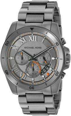 Michael Kors Brecken Gunmetal Tone Chronograph MK8465 Men's Watch