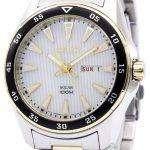 Seiko Solar Two Tone Power Reserve SNE394P1 SNE394P SNE394 Men's Watch