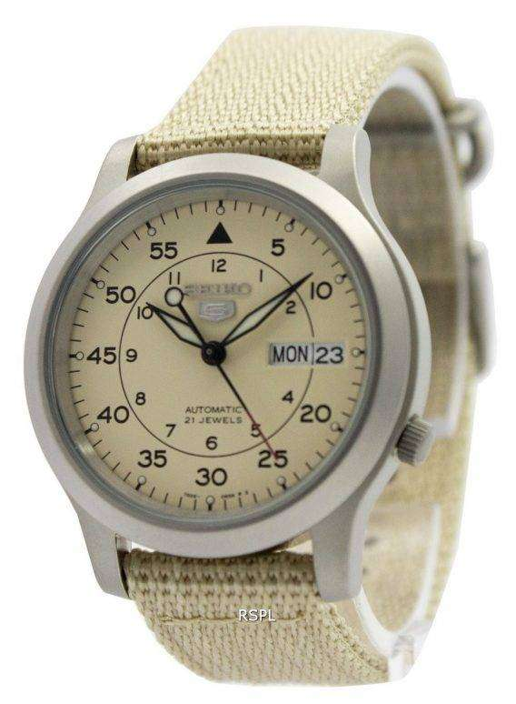 Seiko 5 Military Automatic Nylon Strap Mens Watch SNK803K2 SNK803K SNK803 1