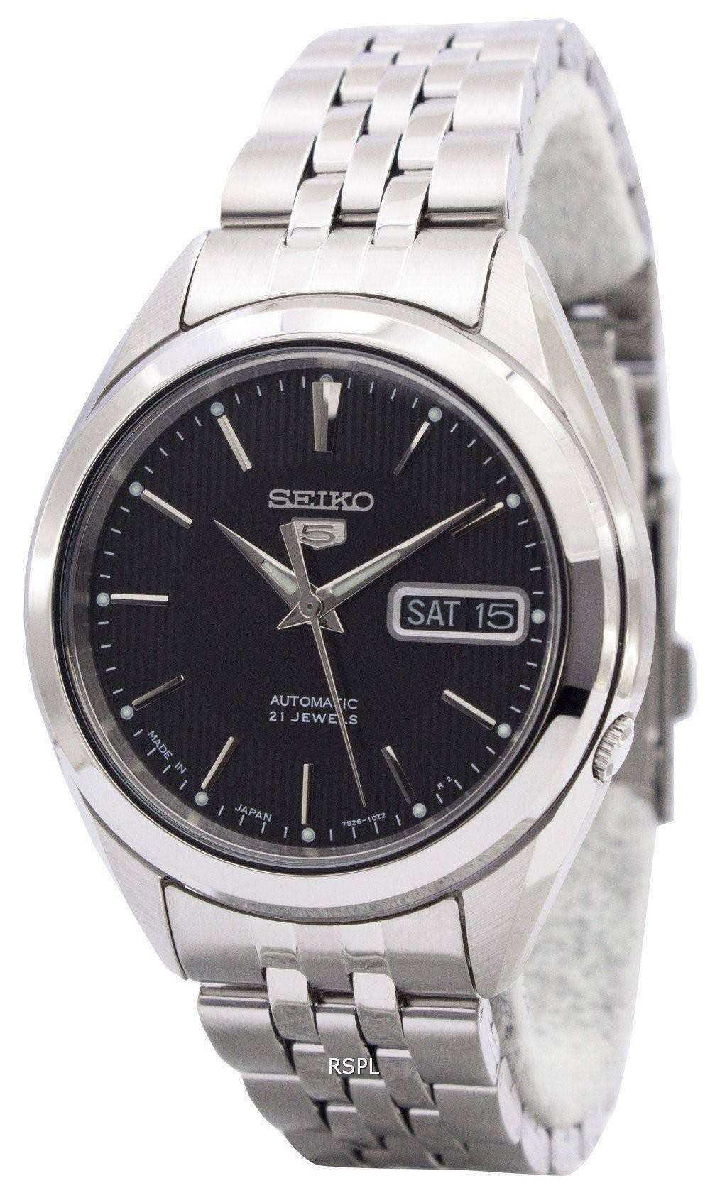 f7fa68ad969 Seiko 5 Automatic 21 Jewels Japan Made SNKL23J1 SNKL23J Men s Watch ...