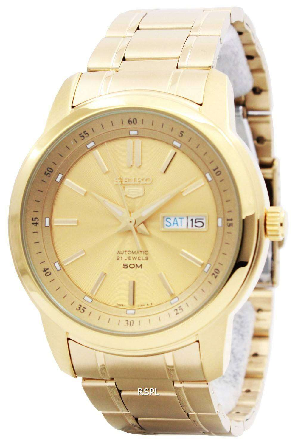 a4957bed2 Seiko 5 Automatic 21 Jewels SNKM94K1 SNKM94K Men's Watch ...