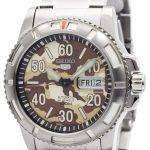 Seiko 5 Sports Automatic 24 Jewels Camouflage Japan Made SRP221J1 SRP221J Men's Watch
