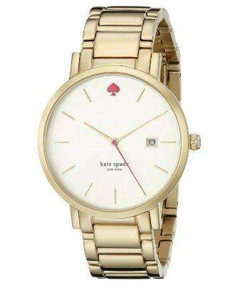 Kate Spade New York Gramercy Gold Tone Stainless Steel 1YRU0009 Womens Watch