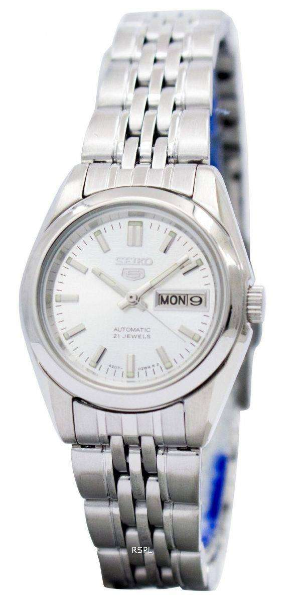 Seiko 5 Automatic 21 Jewels SYMA27 SYMA27K1 SYMA27K Women's Watch 1
