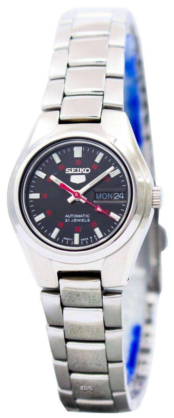 Seiko 5 Automatic 21 Jewels SYMC27 SYMC27K1 SYMC27K Women's Watch 1