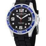 Stuhrling Original Aquadiver Swiss Quartz 200M 675.01SET Mens Watch
