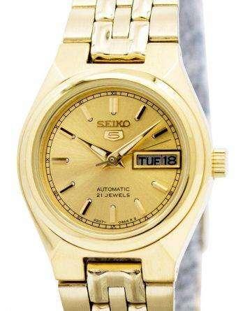 Seiko 5 Automatic 21 Jewels SYMA04 SYMA04K1 SYMA04K Womens Watch