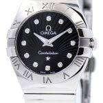 Omega Constellation Quartz Diamond Markers 123.10.24.60.51.002 Women's Watch