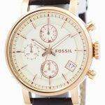 Fossil Original BoyFriend Chronograph Stainless Steel C181020-BRW Womens Watch