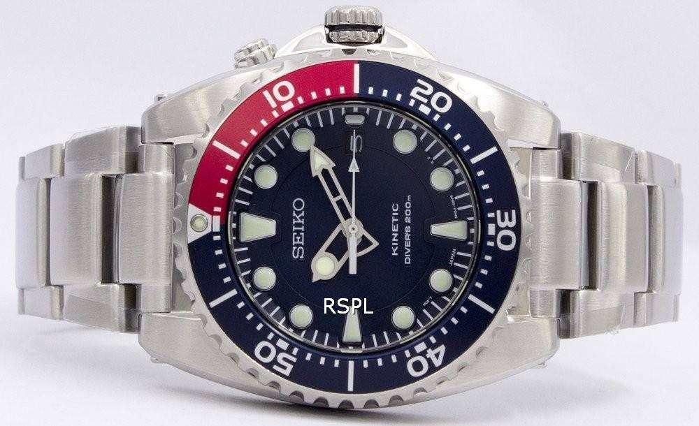 Seiko Prospex Kinetic Diver's 200M SKA761 SKA761P1 SKA761P ...