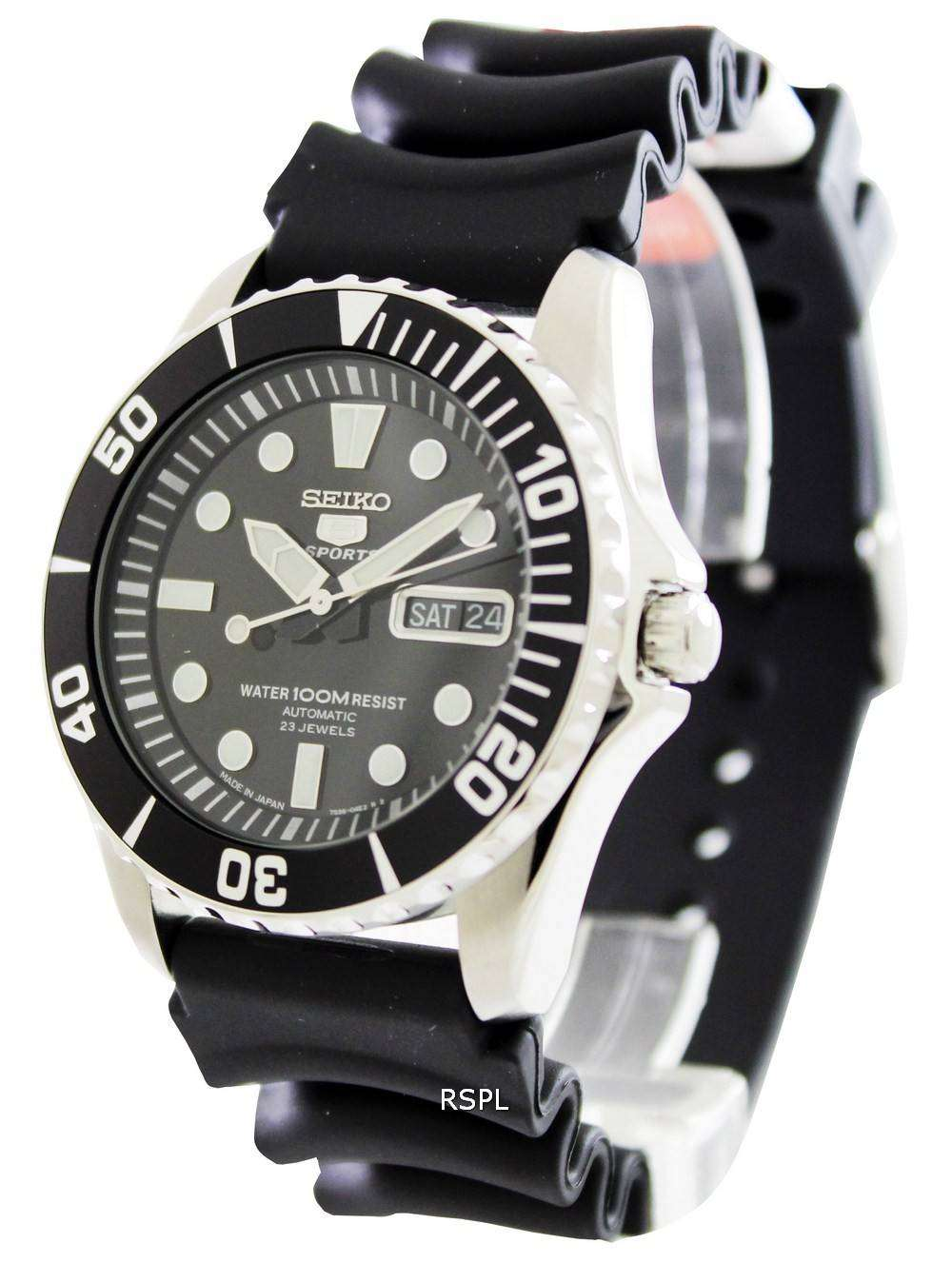 Seiko 5 Sports Automatic Snzf17j2 Men S Watch