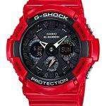 Casio G-Shock Analog Digital World Time Limited Edition GA-201RD-4A Mens Watch