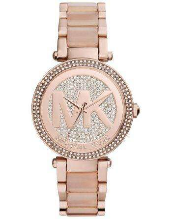 Michael Kors Parker Crystal Pave MK6176 Womens Watch