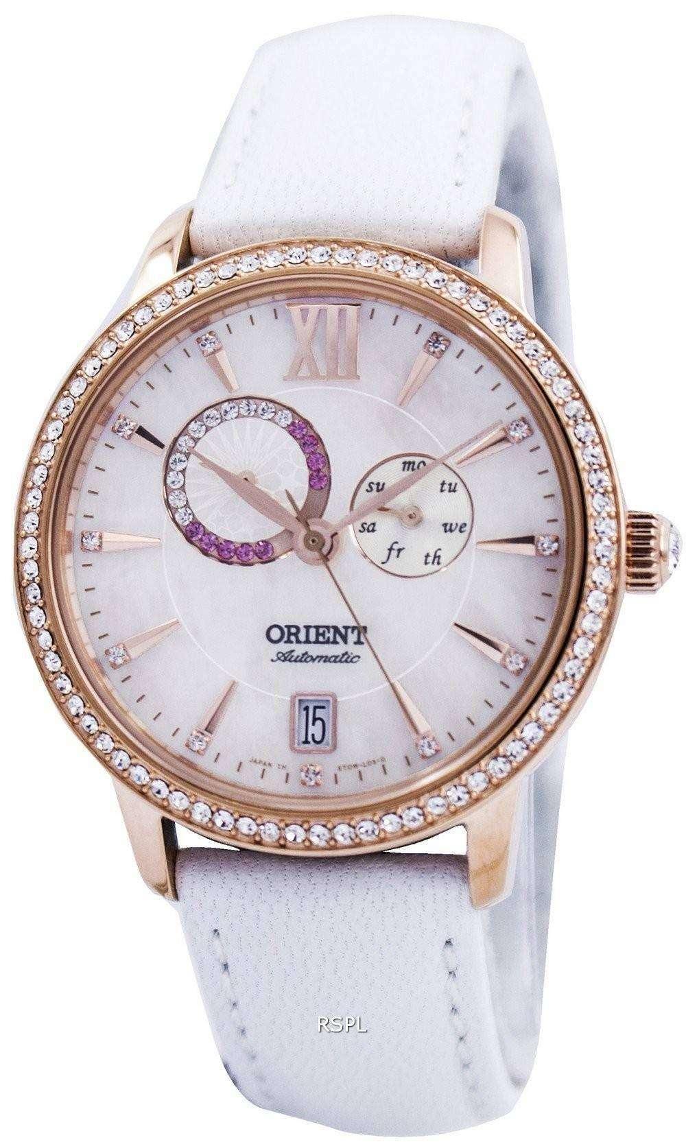 Orient automatic swarovski crystal set0w001w0 et0w001w women 39 s watch downunderwatches for Swarovski crystals watch
