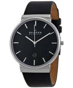 Skagen Ancher Quartz Black Dial SKW6104 Mens Watch