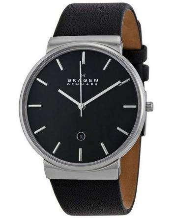 Skagen Ancher Quartz Black Dial SKW6104 Mens Watch
