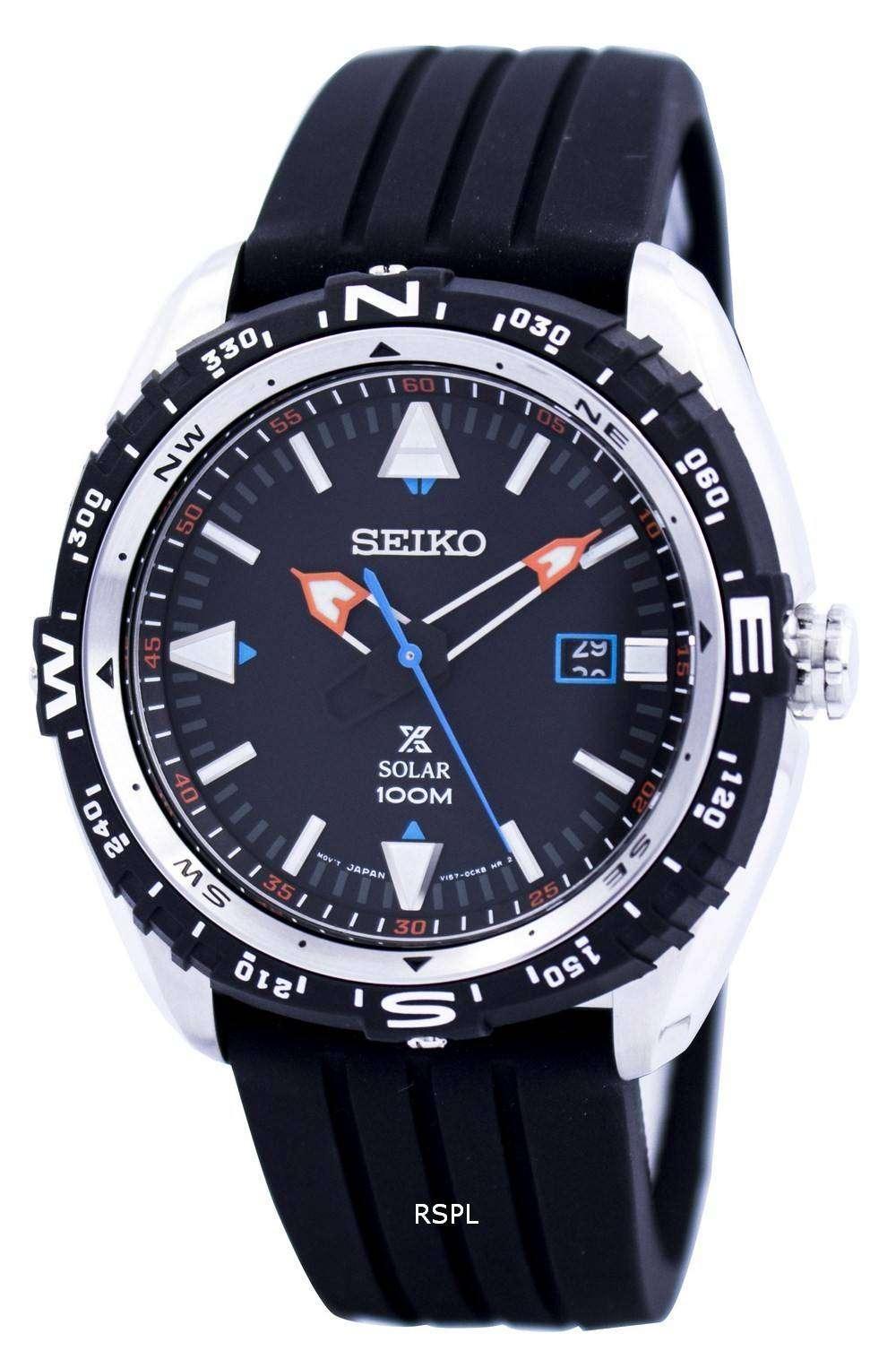 Sne Stock Price >> Seiko Prospex Land Solar Powered 100M SNE423 SNE423P1 SNE423P Men's Watch - DownUnderWatches