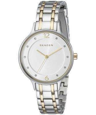 Skagen Anita Quartz Two Tone Crystals SKW2321 Women's Watch 1