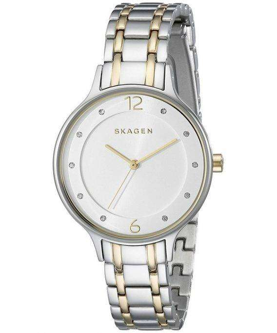 Skagen Anita Quartz Two Tone Crystals SKW2321 Women's Watch
