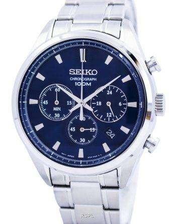 Seiko Quartz Chronograph SSB223 SSB223P1 SSB223P Mens Watch