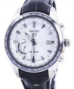 Seiko Astron GPS Solar World Time Japan Made SSE093 SSE093J1 SSE093J Mens Watch