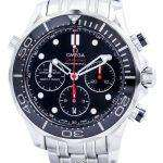 Omega Seamaster Professional Diver 300M Co-Axial Chronograph 212.30.44.50.01.001 Mens Watch
