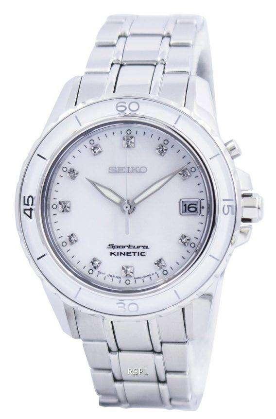 Seiko Sportura Kinetic Diamond Accent SKA881 SKA881P1 SKA881P Womens Watch 1