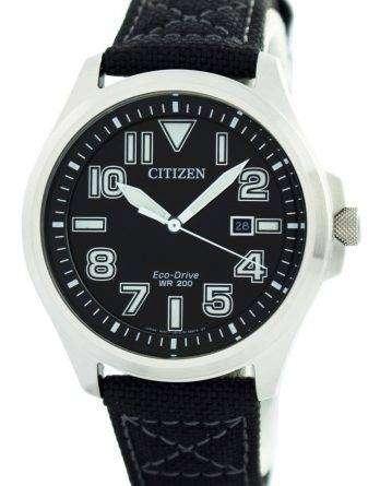 Citizen Eco-Drive Military 200M AW1410-24E Men's Watch