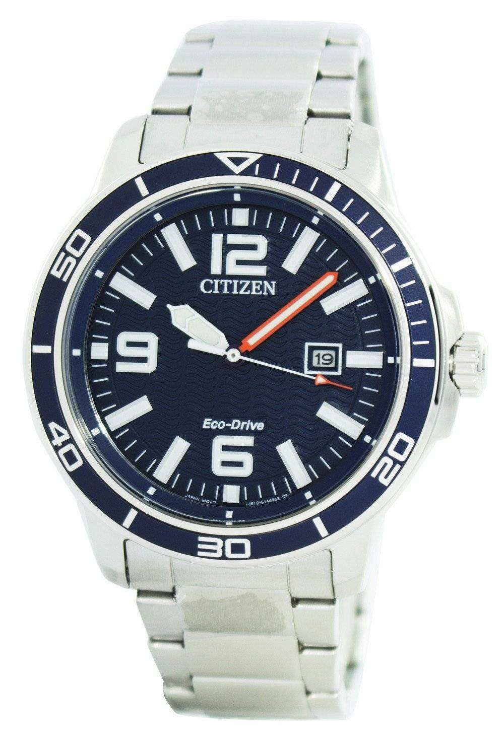 Citizen eco drive sports power reserve aw1520 51l men 39 s watch downunderwatches for Eco drive watch