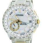 Citizen Eco-Drive Satellite Wave World Time Japan Made CC3006-58A Men's Watch