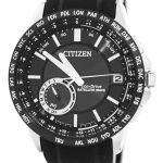 Citizen Eco-Drive Satellite Wave World Time Japan Made CC3007-04E Men's Watch