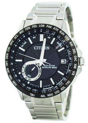 Citizen Eco-Drive Satellite Wave World Time Japan Made CC3007-55E Men's Watch 1