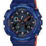 Casio G-Shock Special Color Model Analog-Digital GA-100L-2A Men's Watch