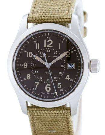 Hamilton Khaki Filed Quartz Swiss Made H68201993 Mens Watch